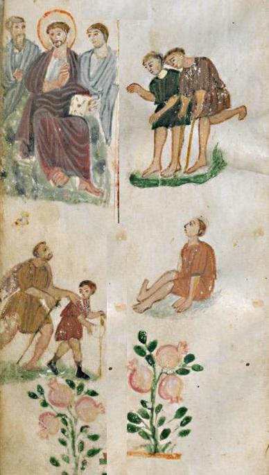 Évangéliaire Rabbula, f. 11r [586]