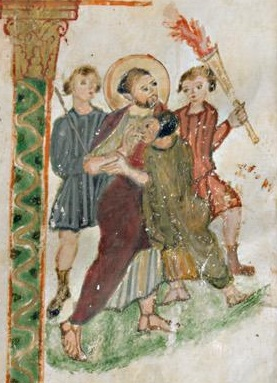 Évangéliaire Rabbula, f. 12r [586]