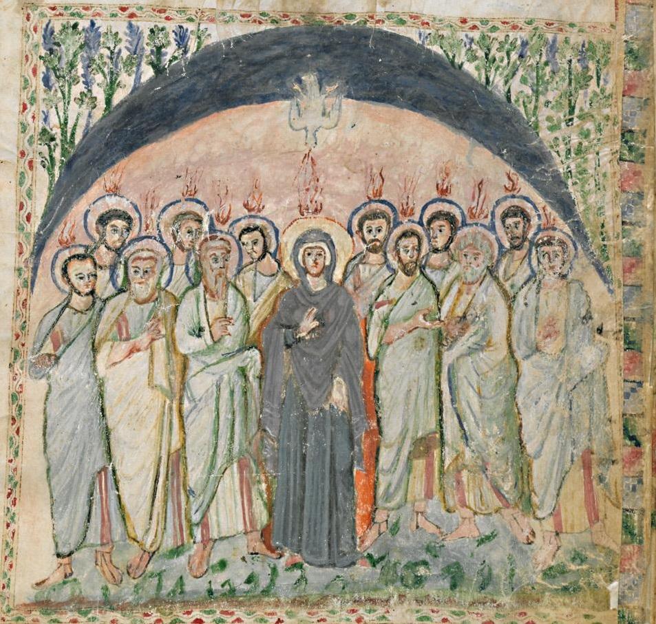 Évangéliaire Rabbula, f. 14v [586]