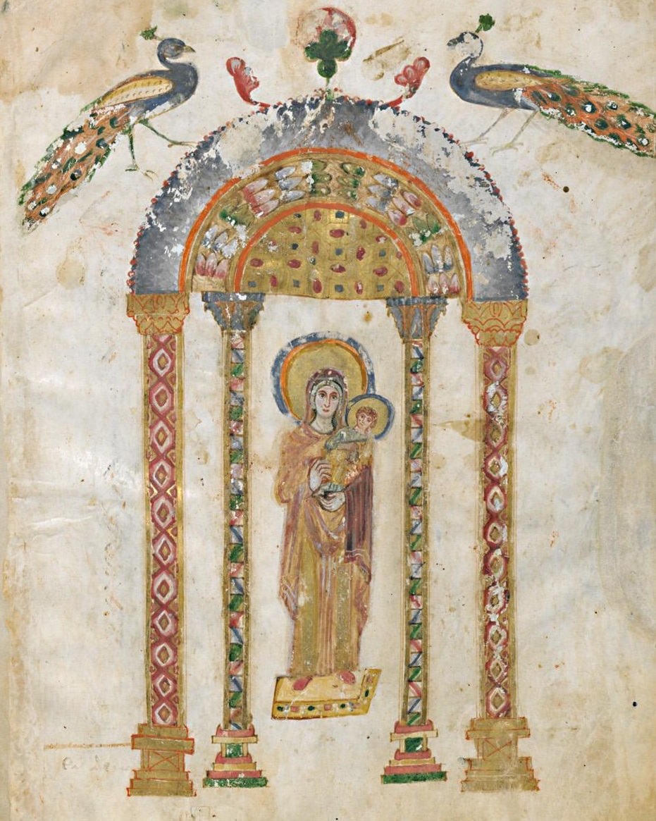 Évangéliaire Rabbula, f. 1v [586]