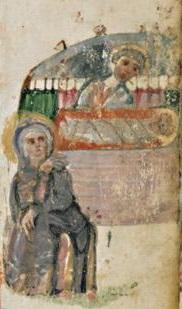 Évangéliaire Rabbula,, f. 4v [586]
