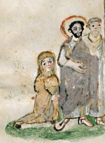 Évangéliaire Rabbula, f. 5v [586]