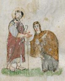 Évangéliaire Rabbula, f. 6r [586]