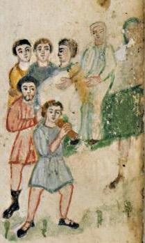 Évangéliaire Rabbula, f. 6v [586]