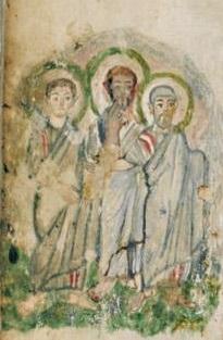 Évangéliaire Rabbula, f. 7r [586]