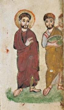 Évangéliaire Rabbula, f. 9r [586]