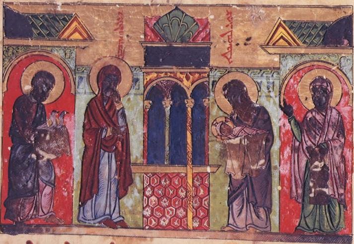 BL Add. MS 7170, f. 57r [1216-20]
