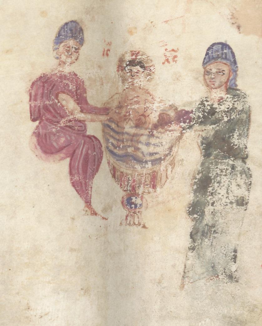 Berlin Sachau 220, f. 6v [11th c.]