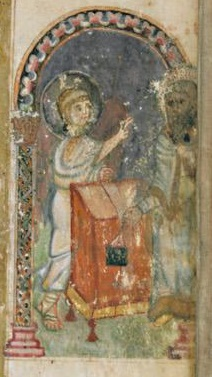 Evangéliaire Rabbula, f. 3v [586]